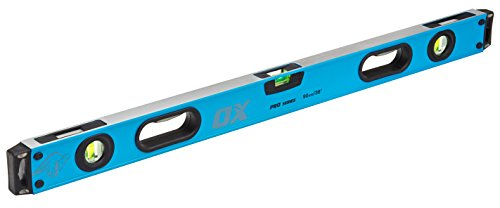 OX OX-T029103 Spirit Pro Level-Shockproof End Caps with The Dual View-(Accuracy 0.5 mm/m) 900 mm Wasserwaage