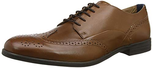 Hudson H Men's Aylesbury Brogues, Brown (Tan 24), 7 for sale  Delivered anywhere in UK