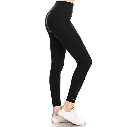 Watopi Damen Sport Leggings, Hochwertige Yoga hosen Leggins Sporthose mit Taschen Yoga-Hose Leggins