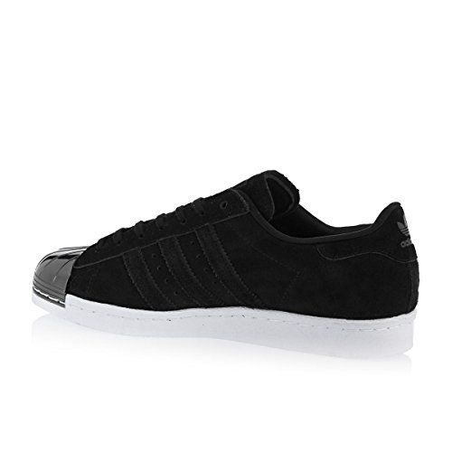 adidas Herren Superstar 80s Metallic Pack Sneaker BLACK|METALLIC
