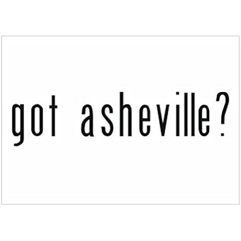 Teeburon Got Asheville? Sticker Pacchetto di 4