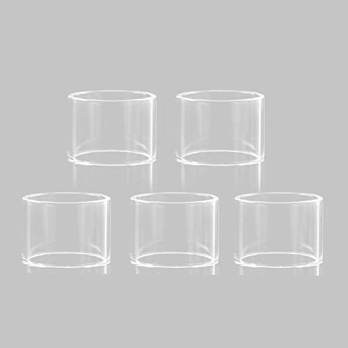 RUIYITECH Ersatzglas für ADVKEN Manta MTL RTA 5er Pack 2-ML
