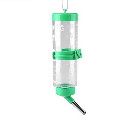 Ftvogue distributore automatico di acqua e cibo per biberon per animali da compagnia, dispenser di acqua per criceti, ratti