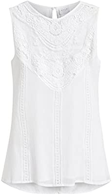 Blusa blanca ibicenca de Vila Clothes