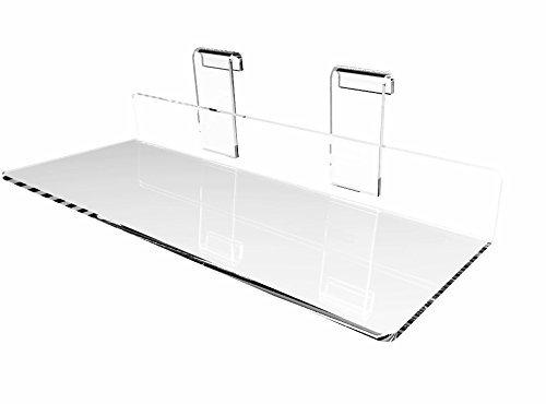 Schuh-präsentationsständer (fixturedisplays 'The Shopfitting Shop Präsentationsständer Grid Panel 10,2x 25,4cm flach transparent Acryl-Plexiglas Schuh Regal 1556715567)