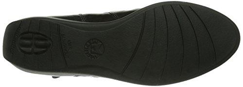 Mephisto-Chaussure Bottine-SEDDY Noir cuir 7900-Femme Noir