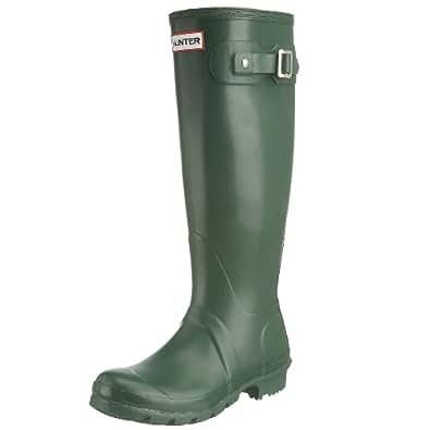 Hunter Original Tall Classic W23177, Unisex-Erwachsene Stiefel, Grün (green), EU 35/36 (UK 3)