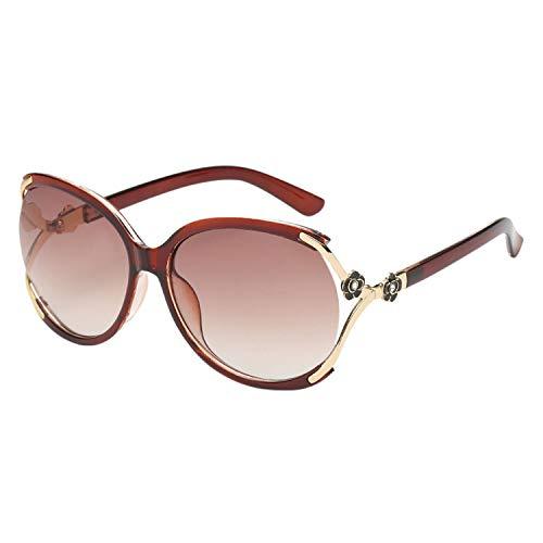 LAEMILIA Sonnenbrille Damen sonnenbrille 59mm UV 400 Schutz Braun-1