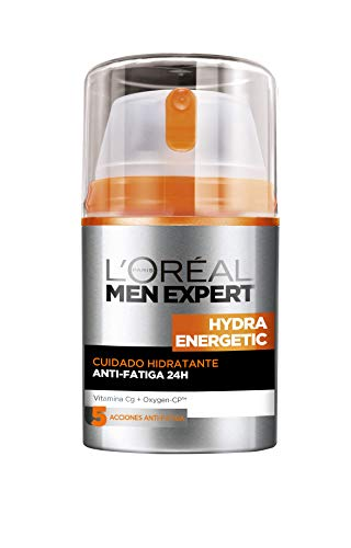 L'Oreal Paris Men Expert Gel Ultra Hidratante Anti-Fatiga Hydra Energetic para hombre - 50 ml