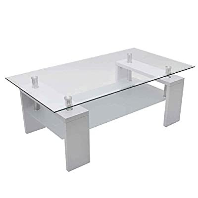 High Gloss White Coffee Table produced by vidaXL - quick delivery from UK.