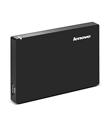 Lenovo 1TB External Hard Drive (Black)