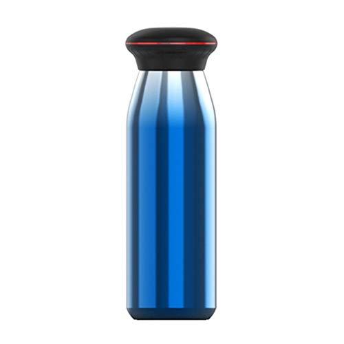 WY1688 Tasse d'isolation Affichage température de l'eau 24 Heures,Blue,550ml