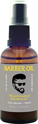 Zoom IMG-2 barber oil olio prerasatura lubrifica
