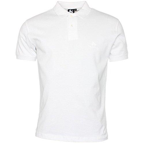 Money Herren Poloshirt Weiß Weiß - Weiß (Classic White)