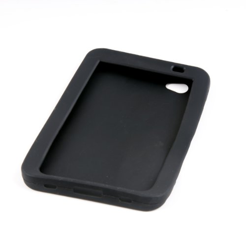NFE Black Silicon Case für Samsung P1000 Galaxy TAB (P1000 Samsung Case)