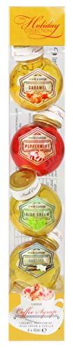 Modern Gourmet Foods - Kaffee Sirup Geschenkset - 4 besondere Geschmacksrichtungen