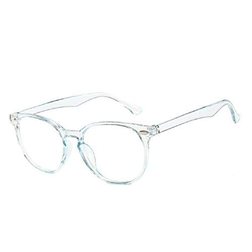 Vaycally Unisex Flat Lens Aviator Style Sonnenbrille der 1980er Jahre Fashion Metal Gold Rim Brillenwelt Brillen, Brillen Brillen Optische Rahmen Klarglas Lady Vintage Computer im Freien