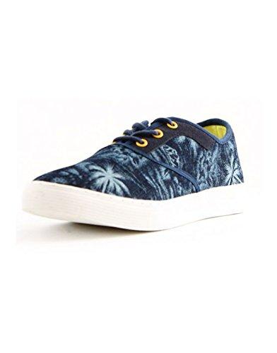 Reservoir Shoes - Basket tissus homme Reservoir Shoes Benita Bleu Bleu