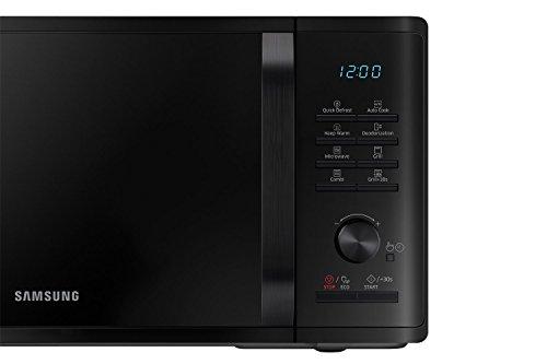 Samsung Forno a Microonde, Scongelamento Rapido, 23 Litri, 800 + 1100 W, Nero