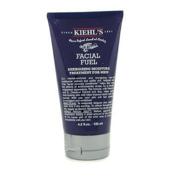 Kiehl's Facial Fuel Energiespendende Feuchtigkeitsbehandlung für Herren, Normale Größe 4.2oz (125ml) (Kiehl Facial Fuel)
