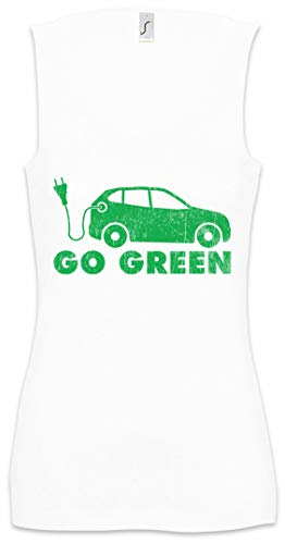 Urban Backwoods BEV Go Green Donna Canotta Women Tank Top Gym Shirt Taglie S - XL