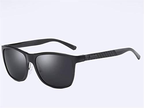 YINshop Herren Sonnenbrille, Al-Mg Metall Vollformat HD Polarisiert Ultraleicht Outdoor Sport Reiten Fahren A
