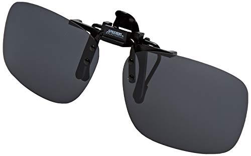 Speeron Aufsteck Sonnenbrille: Sonnenbrillen-Clip Fashion für Brillenträger, polarisiert (Brillenclip)