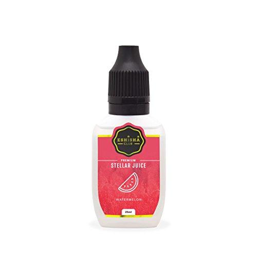 KNUQO STELLAR Juice 25ml - Wassermelone-Geschmack | e-Zigarette | e Shisha eLiquid Flasche | Wiederaufladbare Elektronische Zigarette Liquid | Nikotinfrei | e Shisha | eShisha Club