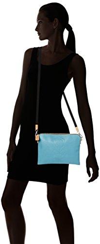 Orla Kiely  Travel Pouch, Sacs bandoulière femme Bleu - Blue (Sky)
