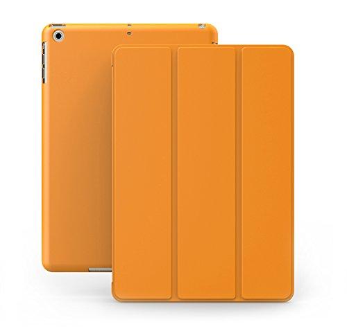 , 3 Hülle Case Orangenes Gehäuse mit doppelten Schutz ultra dünn und leicht, Smart Cover  - Dual Orange ()