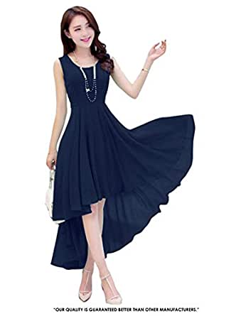 Pop Mantra Georgette a-line Dress