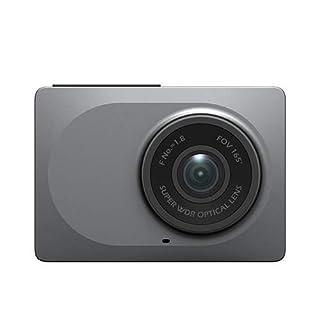 YI Auto Kamera Dashcam Full HD 1080P/60fps Armaturenbrett Kamera mit 6,68 cm (2.7 Zoll) Bildschirmn 165° Weitwinkelobjektiv , Auto DVR Dashcam mit G-Sensor, WDR, Loop Recording, Nachtsicht, WIFI und APP für ISO/Android-grau