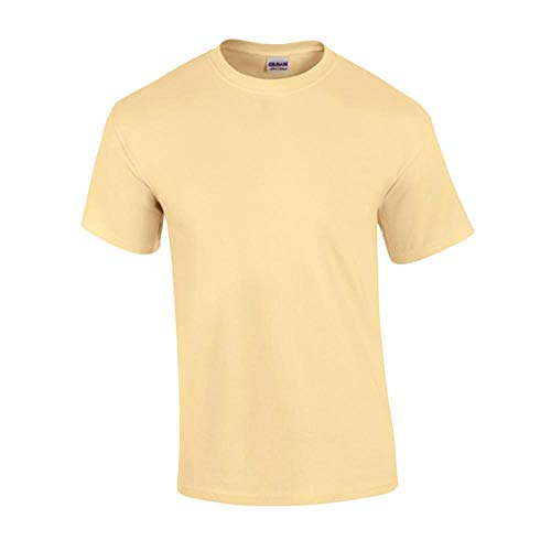Gildan - T-Shirt 'Ultra Cotton' / Vegas Gold, 3XL -