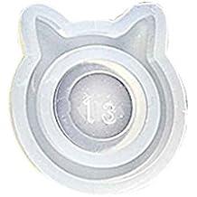 LUFA Molde Animal DIY del Anillo del silicón para la joyería Pendiente del Arte de la