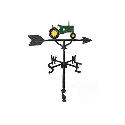 Montague Metall Produkte 32Wetterfahne mit Grün Traktor Ornament