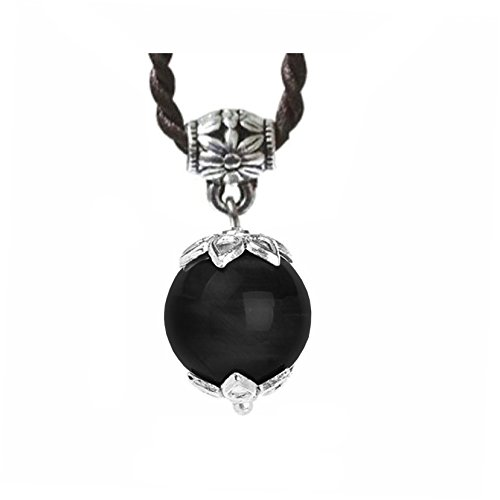 Ufingo Jewelry - Bolas Colgantes Negro Turmali