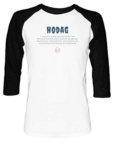 rren Damen Unisex Baseball T-Shirt Weiß Schwarz 2/3 Ärmel Women's Men's Unisex ()