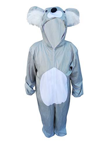 Koala-Bär Kostüm, J42/00, Gr. M-L, Fasnachts-Kostüme Tier-Kostüme, Koala-Kostüme Koala-Bären für Fasching Karneval Fasnacht, Geschenk für Erwachsene