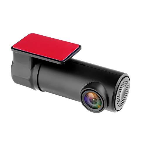 ZXTiL Auto Kamera Auto Armaturenbrett Dashcam Full HD 1080P, G-Sensor, 170° Weitwinkelobjektiv, Bewegungserkennung, Nachtsicht