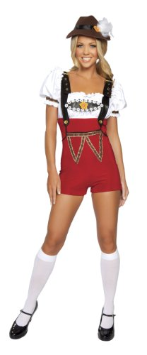 y dress costume Medium / Large (Beer Stein Babe Kostüm)