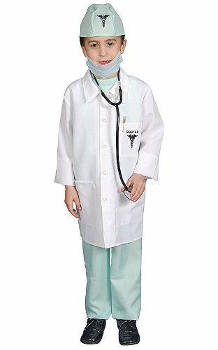 Dress Up America Deluxe Arzt Ankleiden Kinderkostüm Set (Dress Up-spiele Award)