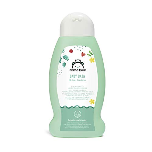 Amazon Brand Mama Bear Baby Bath (No Tears Formulation), 3 Bottles 3x300ml