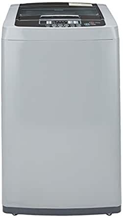 LG 6.2 kg Fully-Automatic Top Loading Washing Machine (T7208TDDLM, Middle Free Silver)