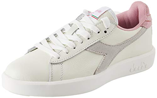 Diadora Game Wide L, Scarpe Sportive Donna, Multicolore (White/Cameo Pink C7725), 38 EU