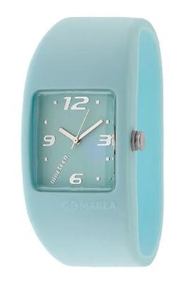 Marea Nineteen B35502/22 - Reloj de mujer de cuarzo, correa de silicona color azul claro