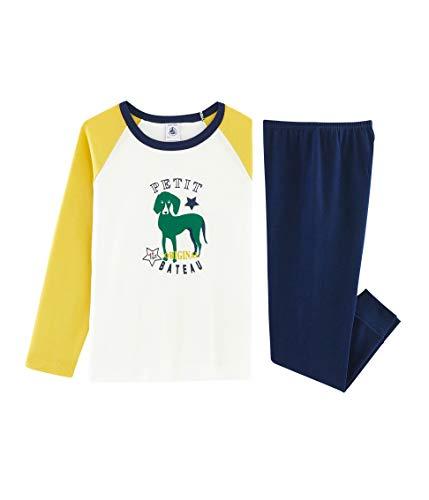 Petit bateau pyjama_4989301 pigiama, multicolore (medieval/multico 01), 152 (taglia produttore: 12anni/152centimeters) bambino
