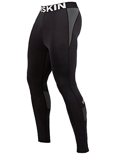 DRSKIN Compression Cool Dry Sports Tights Pants Baselayer Running Leggings Men (CAME B-G01, XL)