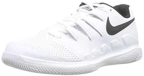 Nike Jungen Air Zoom Vapor X Hc Tennisschuhe Mehrfarbig Black/Vast Grey/Summit White 101, 38 EU