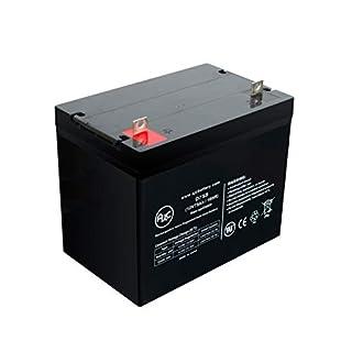 Teledyne TA Trac Wheelchair Batteries 12V 75Ah Notlicht Akku - Dies ist EIN AJC® Ersatz