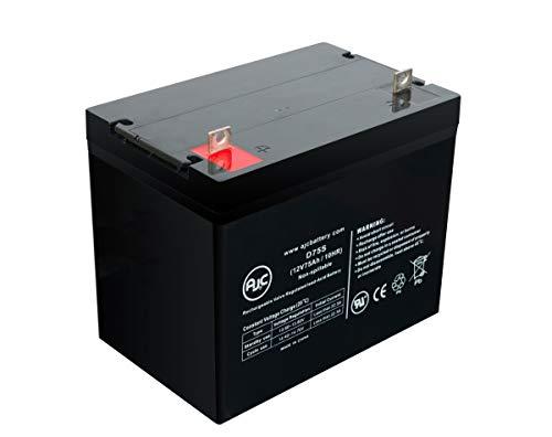 Batterie Exide NC-24 12V 75Ah Acide scellé de Plomb - Ce Produit est Un Article de Remplacement de la Marque AJC®